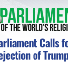 Parliament Of World's Religions Calls for Universal Rejection of Trump Censorship